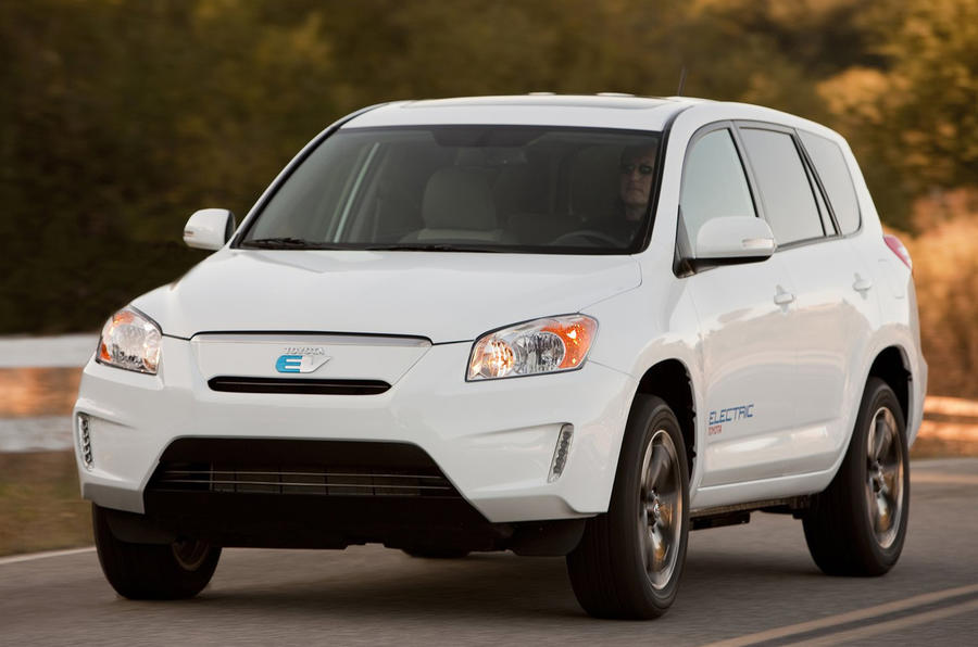 Electric Toyota Rav4 for 2012
