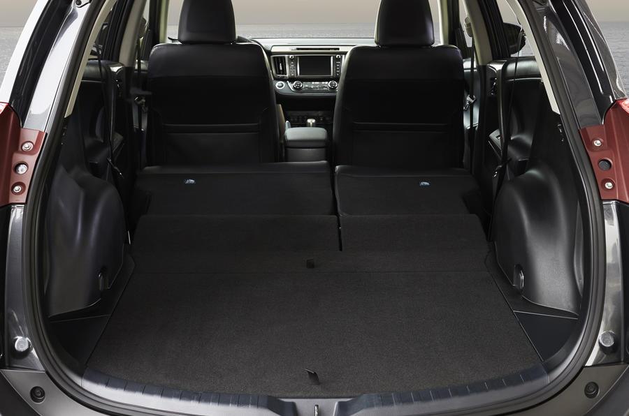 Toyota RAV4 seat flexibility
