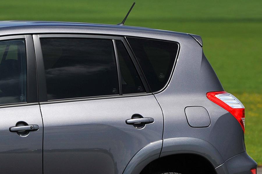 Toyota RAV4 tinted rear windows