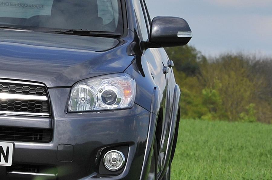 Toyota RAV4 xenon headlight