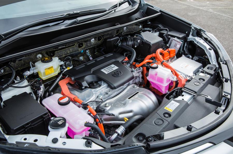 Toyota RAV4 hybrid engine