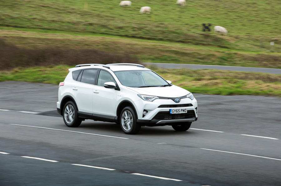 Toyota RAV4 side profile