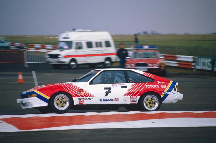 Motorcycle Legend Barry Sheene Drove The Mk2 Celica Supra In The British  Saloon Car Championship