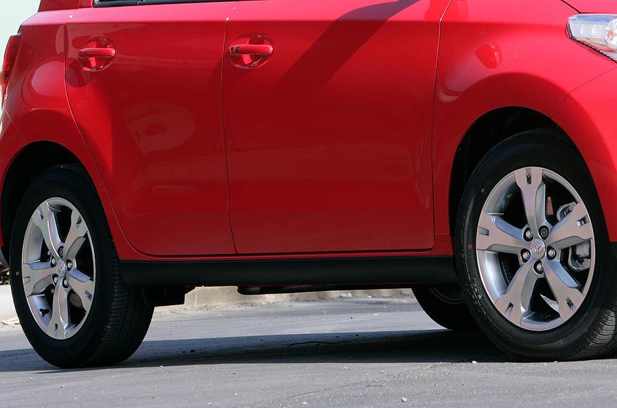 High-riding Toyota Urban Cruiser