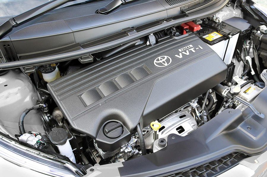 1.33-litre Toyota Urban Cruiser engine