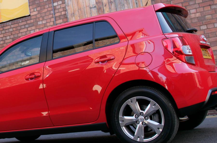 Toyota Urban Cruiser rear end