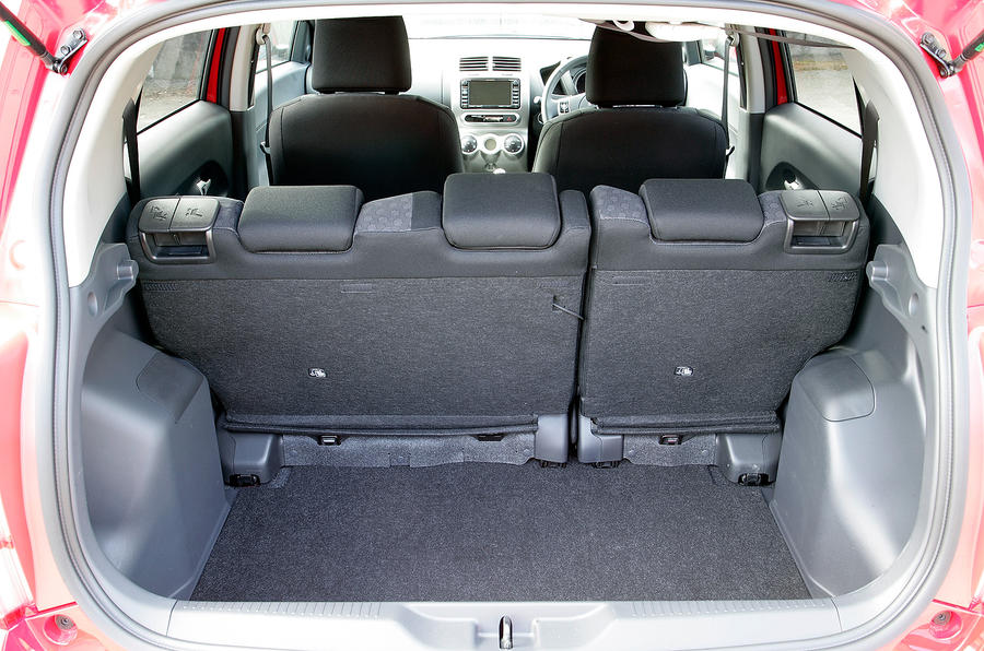 Toyota Urban Cruiser boot space