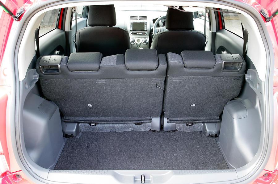 Toyota Urban Cruiser boot space
