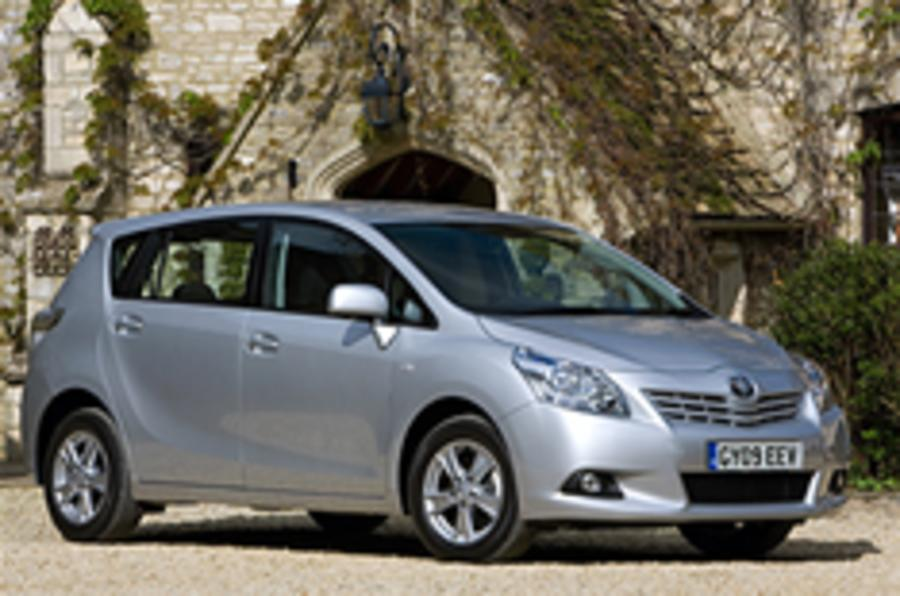 Toyota extends Verso range