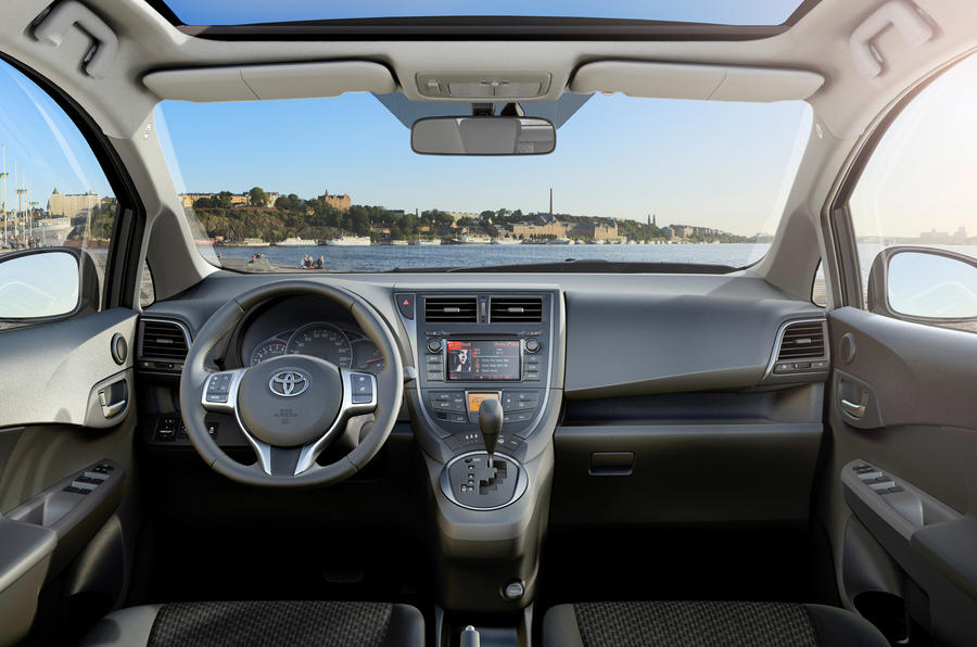 Paris motor show: Toyota Verso-S
