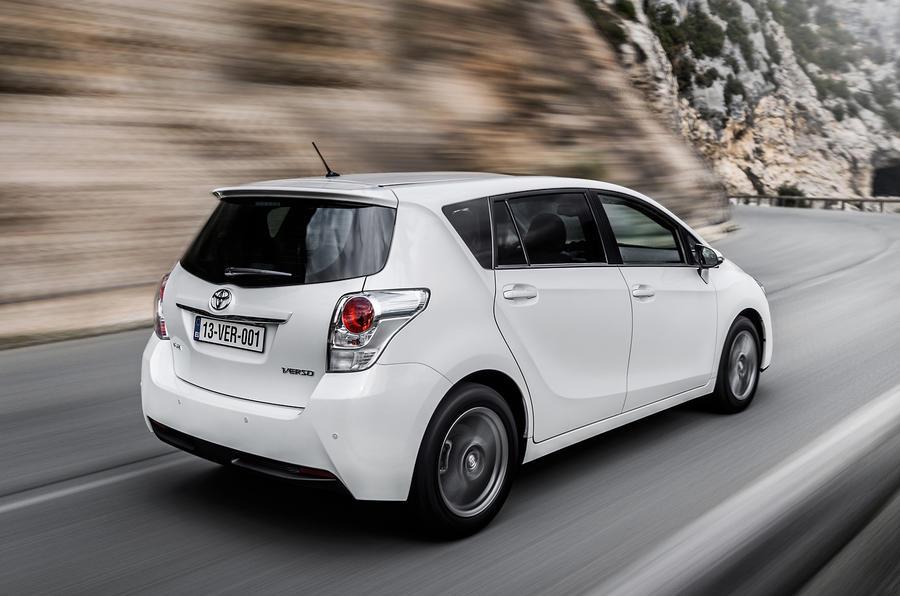 Toyota Verso rear quarter