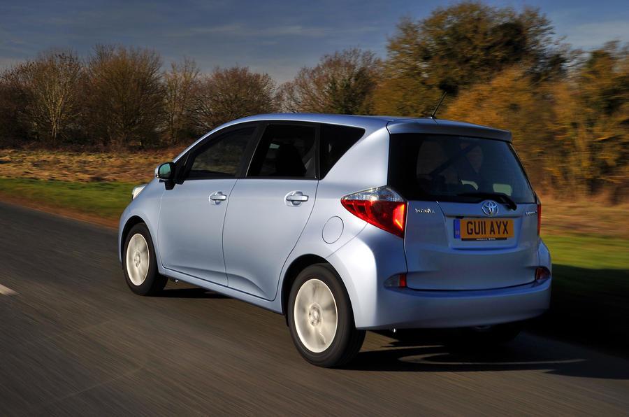 Toyota Verso-S rear quarter