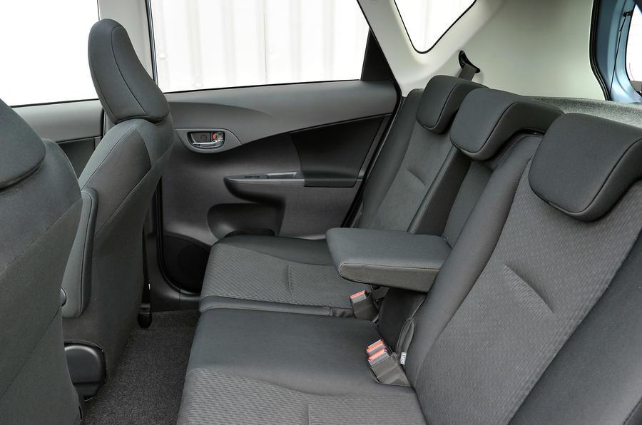 Toyota Verso-S rear seats