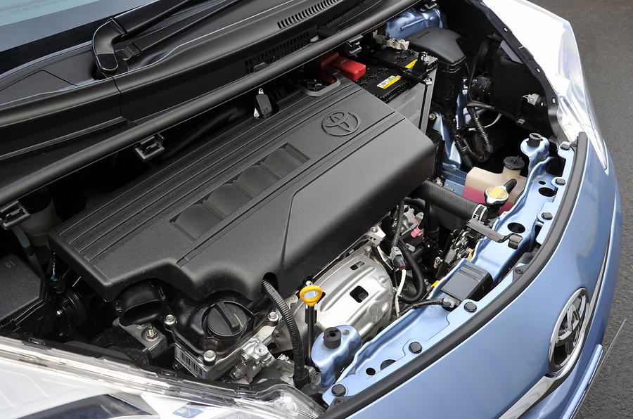 Toyota Verso-S engine bay