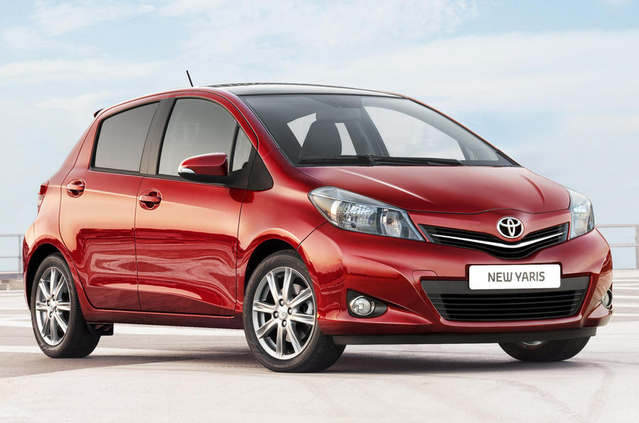 New Toyota Yaris from £11,170