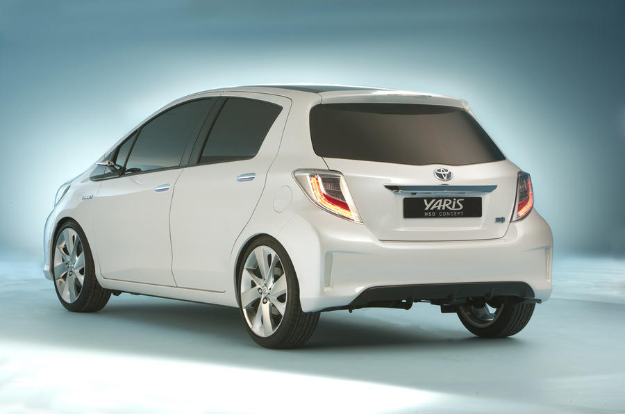 Geneva motor show: Yaris hybrid concept