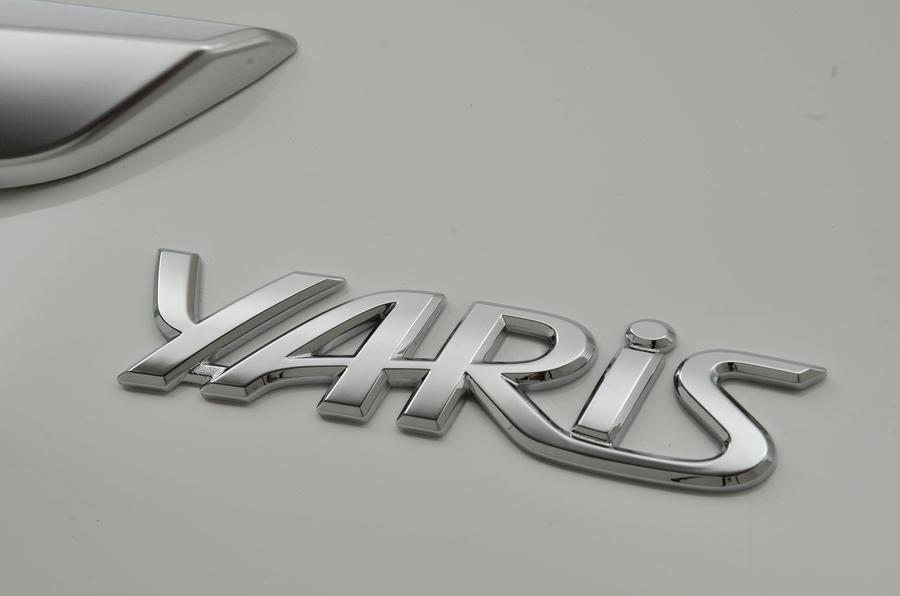 Toyota Yaris badging