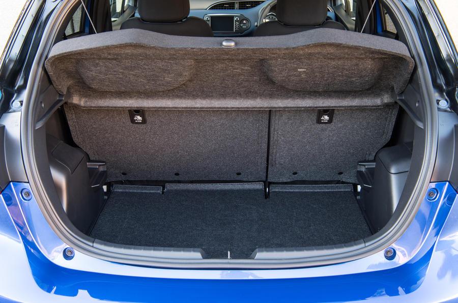 Toyota Yaris boot space