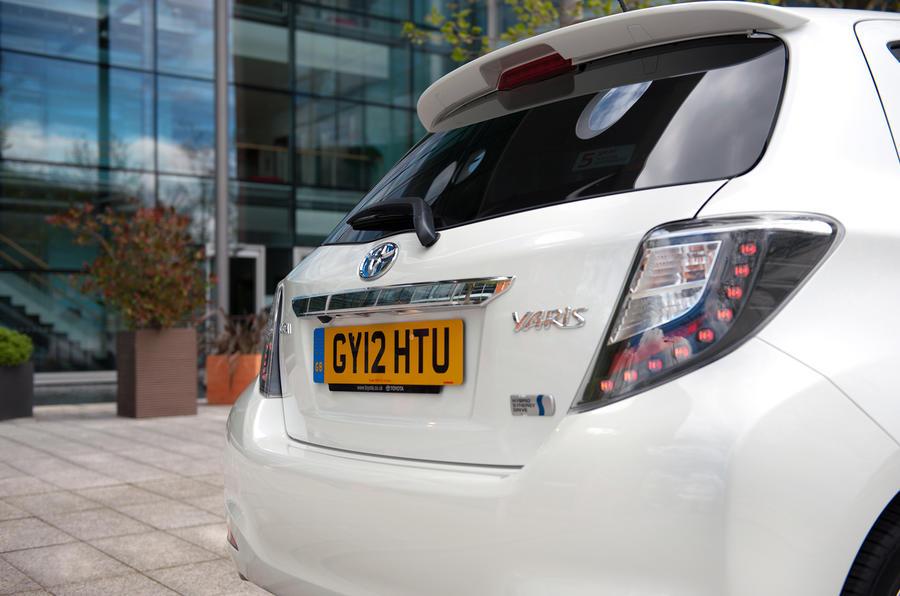 Toyota Yaris Hybrid rear end