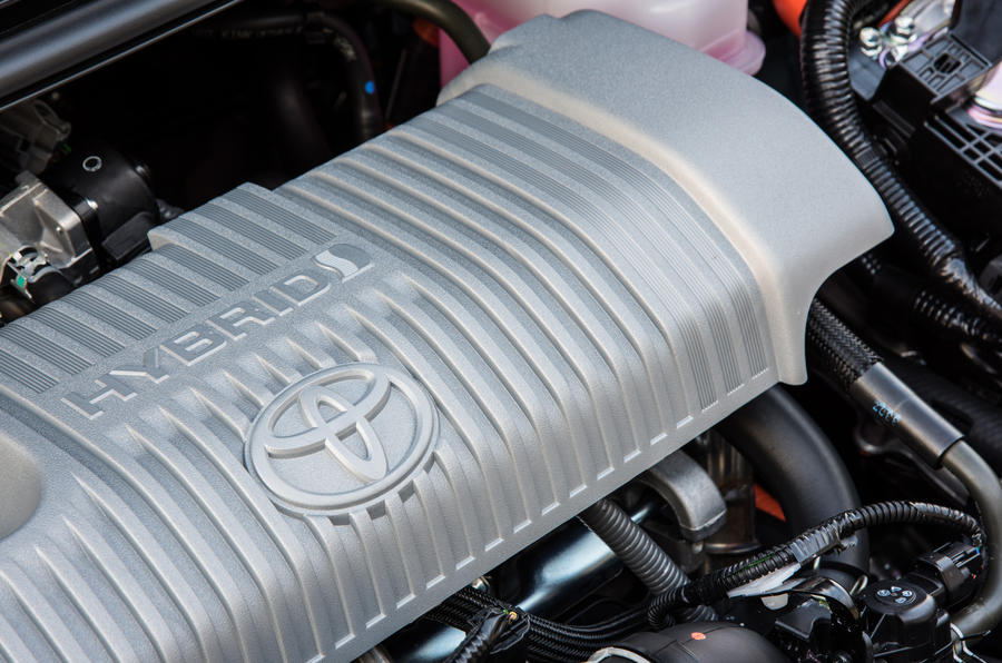 Toyota Yaris Hybrid engine bay