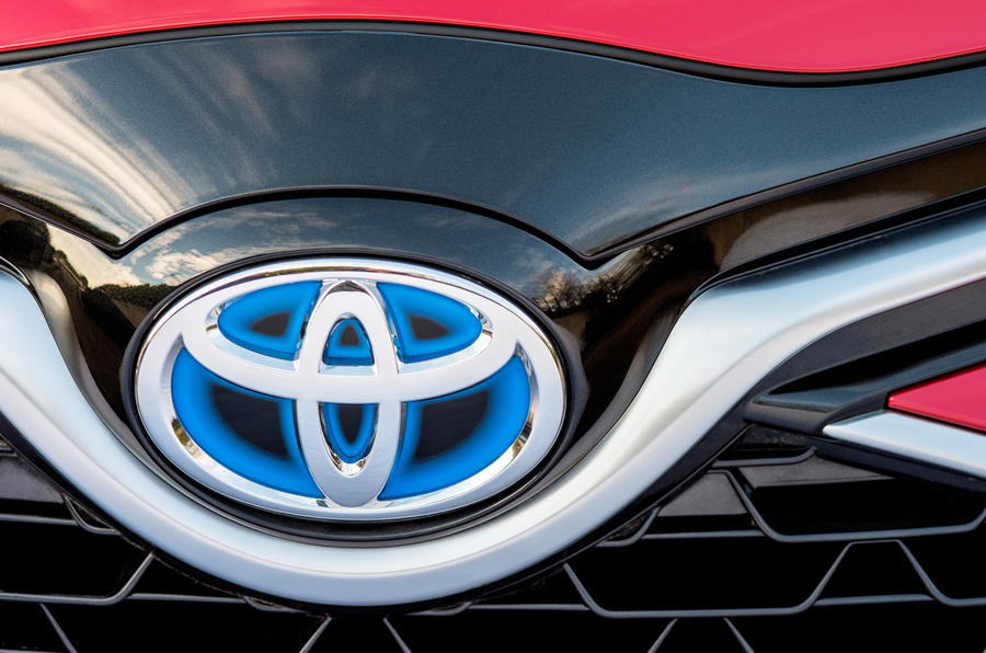 Toyota Yaris Hybrid front grille