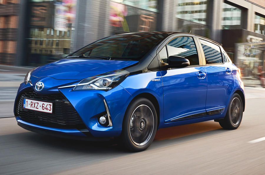 toyota yaris hybrid review 2017 autocar. Black Bedroom Furniture Sets. Home Design Ideas