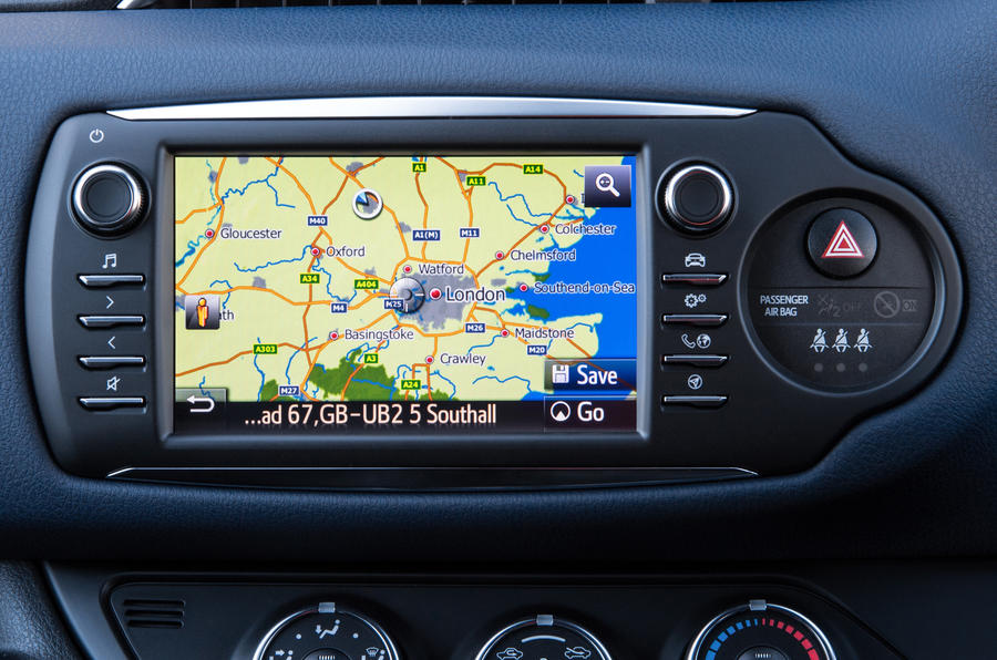 Toyota Yaris Touch 2 infotainment system