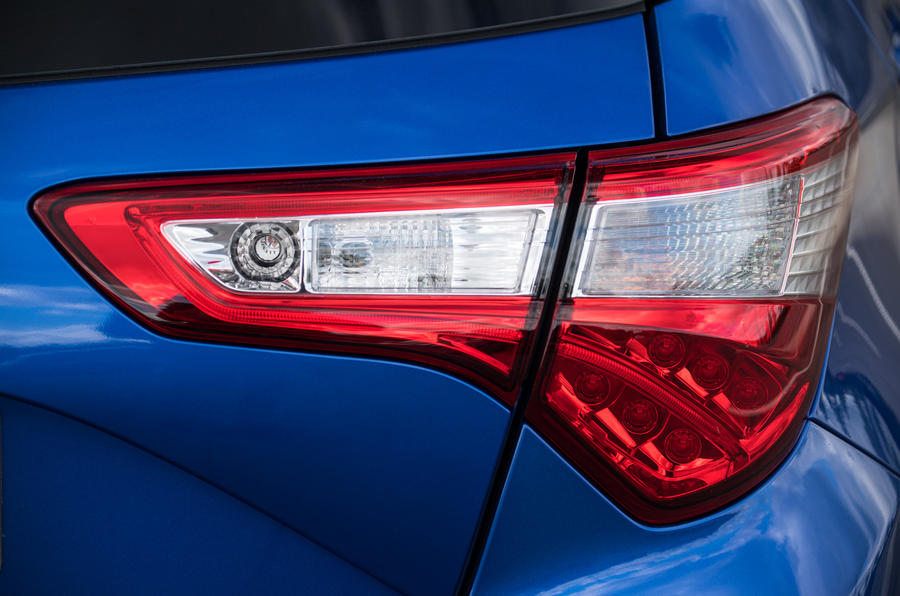 Toyota Yaris rear lights