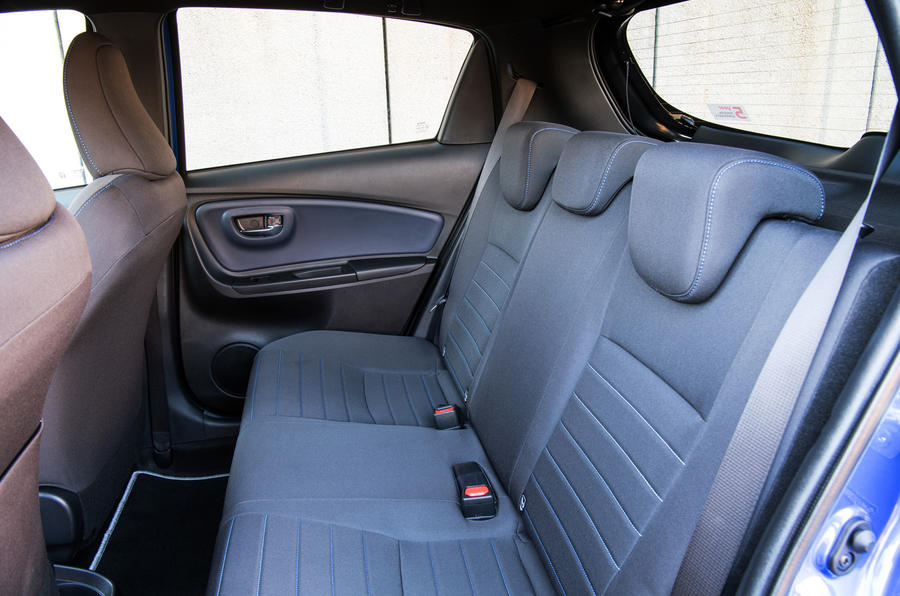 Toyota Yaris rear seats