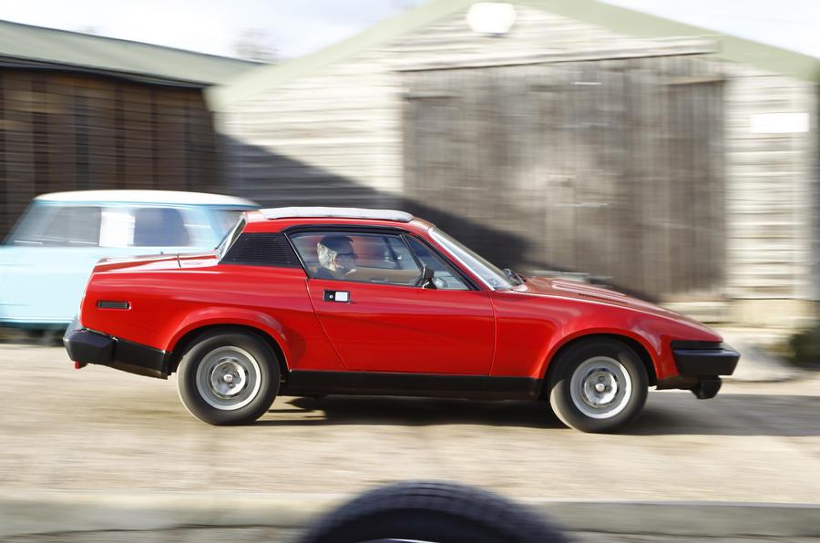 Triumph TR7 nostalgia ride leaves me stirred, not shaken