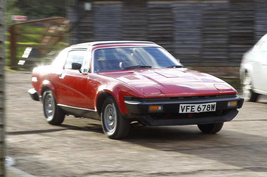 Triumph TR7 nostalgia ride leaves me stirred, not shaken