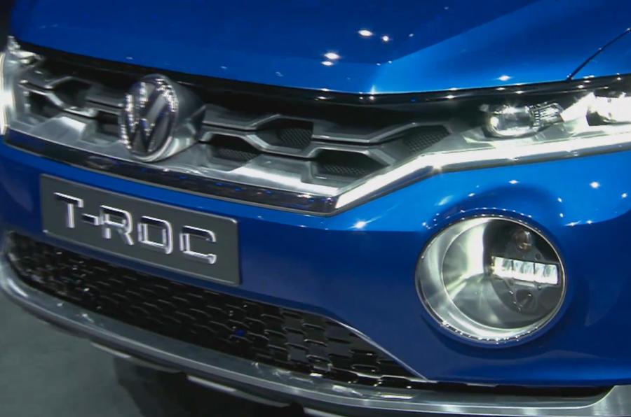 VW T-Roc reveals compact SUV plans