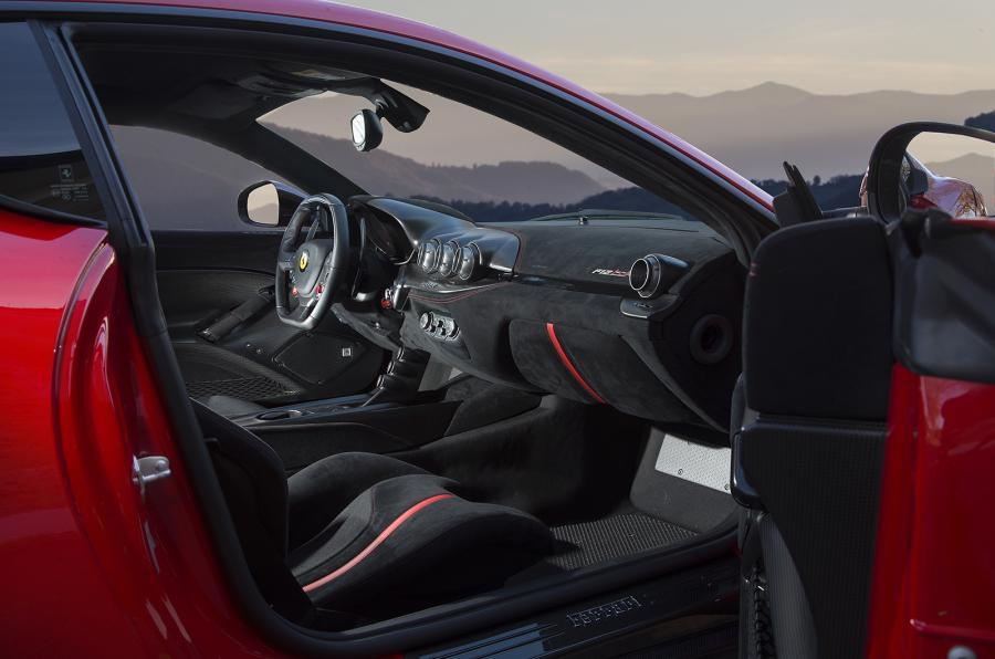 Ferrari f12tdf review 2017 autocar - 2017 ferrari california interior ...