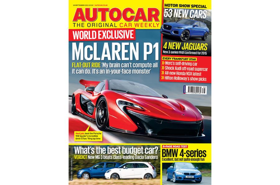 Autocar magazine 18 September preview