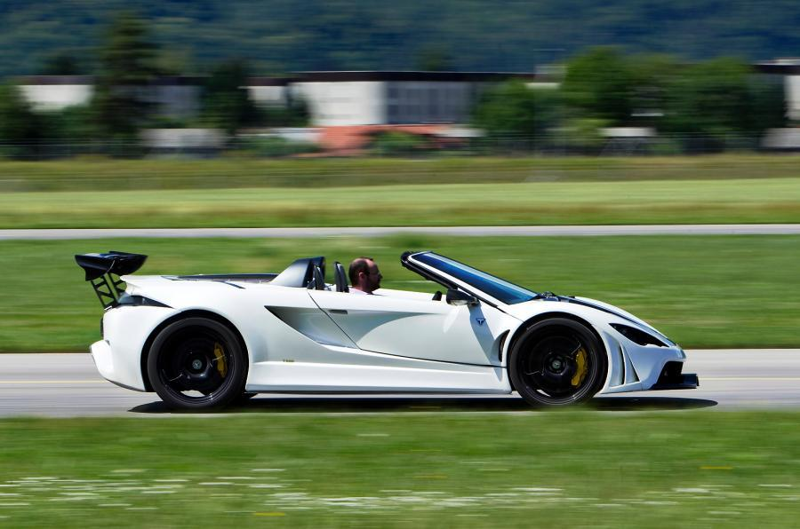 Tushek Renovatio T500 side profile