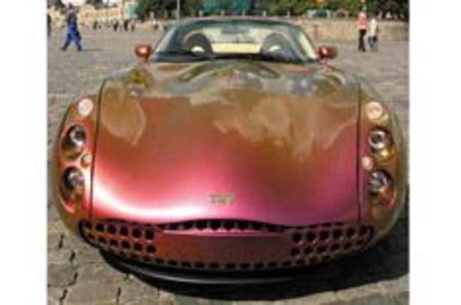 Rouble at the top for TVR
