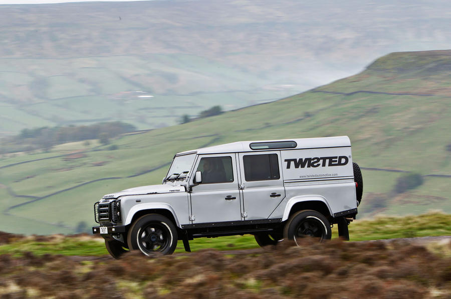 237bhp Twisted 110 Utility 3.2 Ultimate