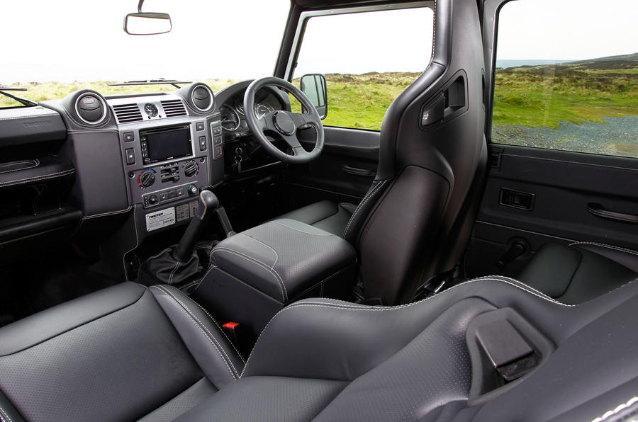 Twisted 110 Utility 3.2 Ultimate interior