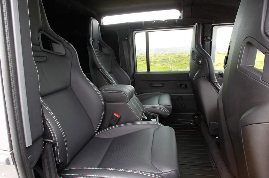 Twisted 110 Utility 3.2 Ultimate rear seats
