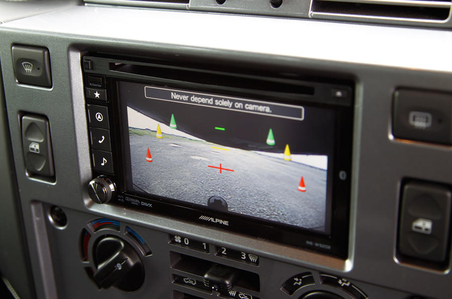 Twisted 110 Utility 3.2 Ultimate reversing camera