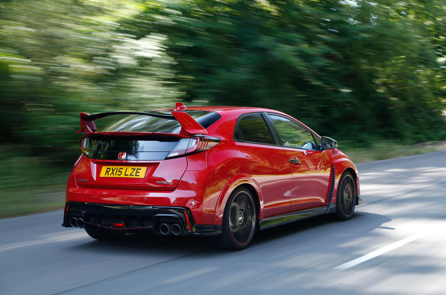 Honda Civic Type-R rear