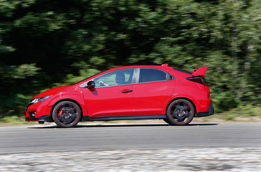 The 306bhp Honda Civic Type-R