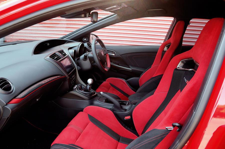 Honda Civic Type-R interior