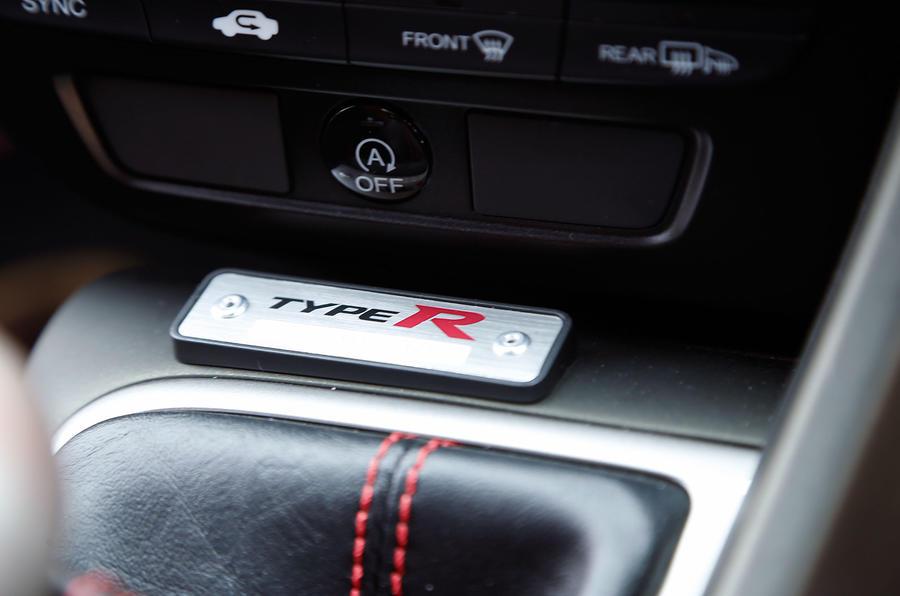 Honda Civic Type-R plaque