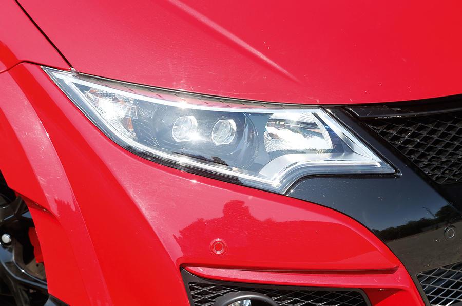 Honda Civic Type-R LED lights