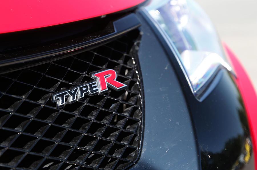 Honda Type-R badging