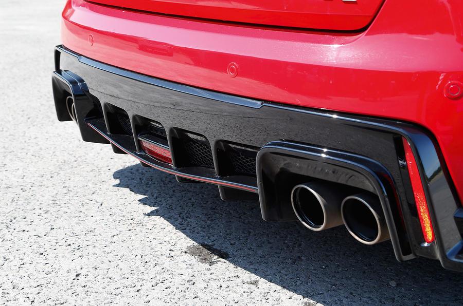 Honda Civic Type-R rear diffuser