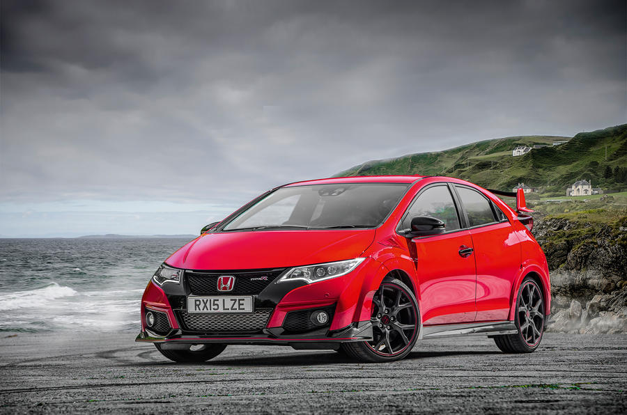 4 star Honda Civic Type-R