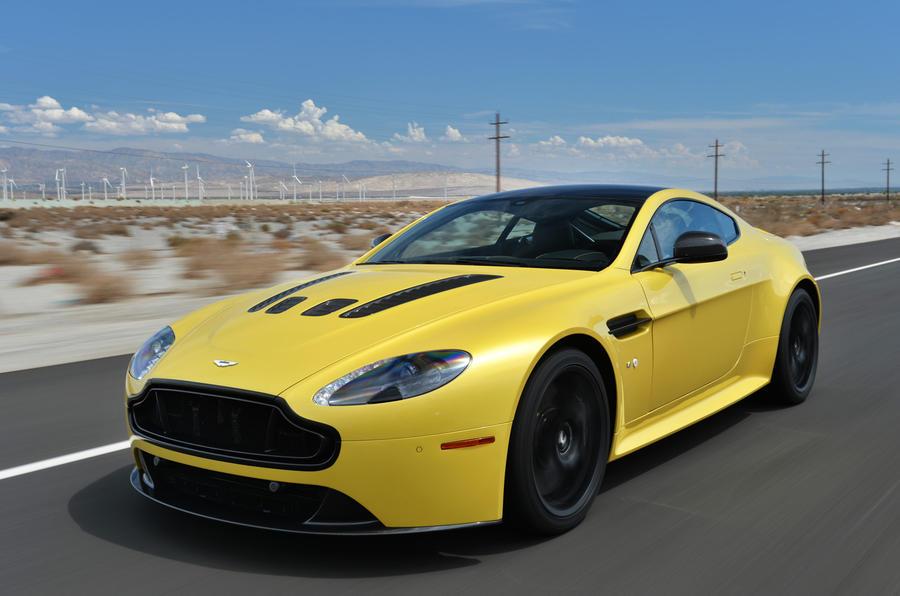 £138,000 Aston Martin V12 Vantage S