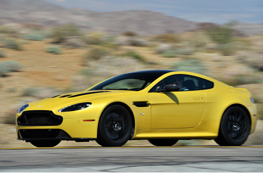 565bhp Aston Martin V12 Vantage S